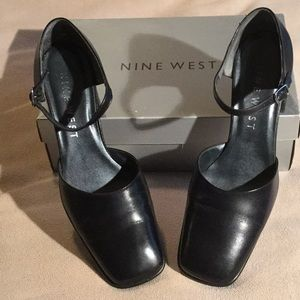 Nine West Square Toe Mary Janes